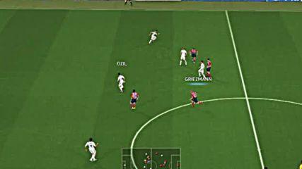 Pes2014 - Atletico Madrid - Real Madrid - второ полувреме (финалът на Шл 2016)