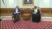 Oman: Lavrov discusses oil market with Omani Deputy PM in Muscat