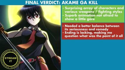 Gr Anime Review - Akame Ga Kill