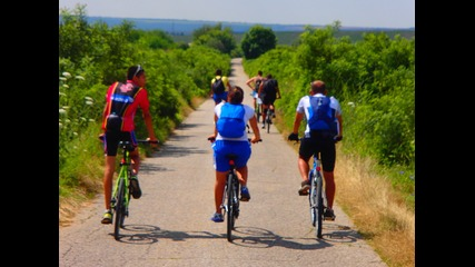 Красотата на Русенски Лом - 12 част Обиколка на България с колело 2014