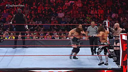 AJ Styles & Omos vs. The Viking Raiders – Raw Tag Team Championship Match: Raw, July 26, 2021