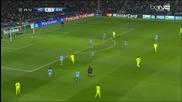 Манчестър Сити 1 - 2 Барселона ( шампионска лига ) ( 24/02/2015 )