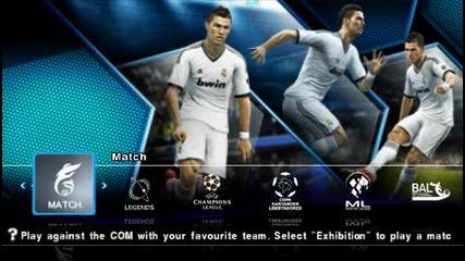 Pro Evolution Soccer 2013 - Psp Gameplay