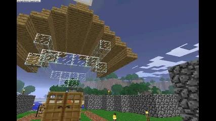 Minecraft # 8 - pravene na biblioteka 1 / 2 4ast