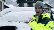 ламборгини обичат супер много снега!!!