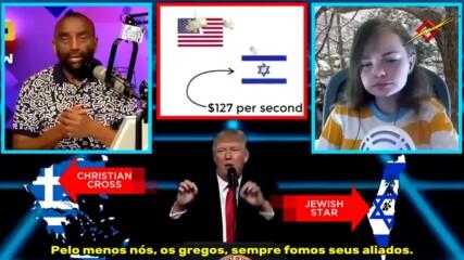 София/14г и Джеси Лий/69 обсъждат Израел и Tръмп_ Poseidon Jesse Lee Peterson e Soph Discutem Israel