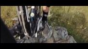 С колело по слаклайн