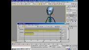 3ds max - motion mixer - урок - преходи