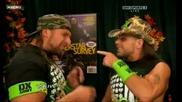 D X говорят за изминалия турнир..смях...| Raw 23/11/09 |