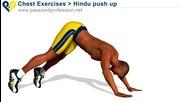 Как да направим трицепс, рамена и гърди за 1мин.