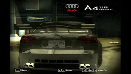 Nfs Most Wanted Audi A 4