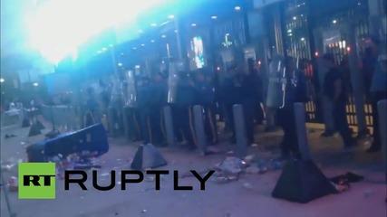 Сблъсъци пред стадиона в Ню Джърси, има арестувани