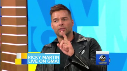 Ricky Martin-good Morning America-17.01.2018