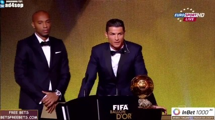 Кристиано Роналдо печели златната топка за 2014