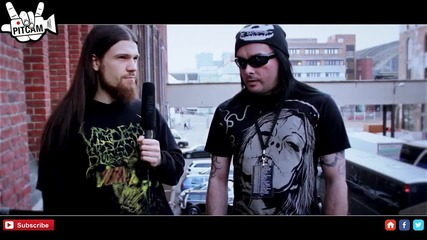Cradle Of Filth interview with Dani Postbahnhof, Germany www.pitcam