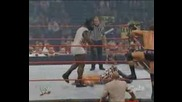 Raw 2003 - Shawn Michaels & Bill Goldberg Vs Randy Orton & Ric Flair & Mark Henry