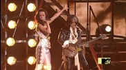 Katy Perry and Joe Perry - We Will Rock You (mtv vmas 2009) ( H Q )
