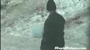Най - прилежният снегочистач!