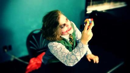 Joker Vs Rubik S Cube (голям смях )