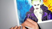 Рисунка на Жокера