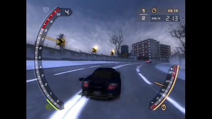 Need For Speed Most Wanded - Drag