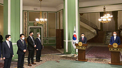Iran: Tehran calls for release of frozen funds during South Korean PM's visit