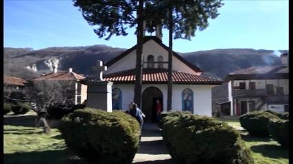 Калоферският мъжки манастир - свидетелства от високото,
