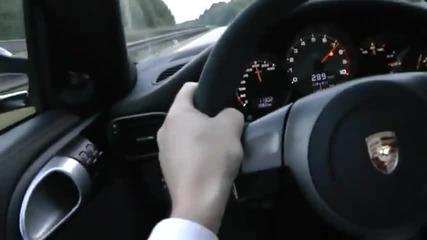 Porsche 9ff 850 Gturbo - 381 km/h on German Autobahn