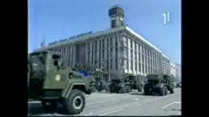 Камиони Краз На Военен Парад