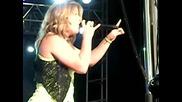 Kelly Clarkson Walk Away Live Brent Brown Ballpark, Orem Summerfest, Utah June 2009