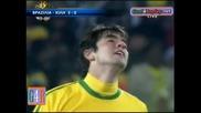 28.06.2010 Бразилия - Чили 3:0 Всички голове и положения - Мондиал 2010 Юар
