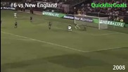 David Beckham's 12 La Galaxy Goals 2007 2011