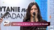 Juan Carlos Cano Hoy Cantando en Español Ganador de la voz Polonia Video nuevo