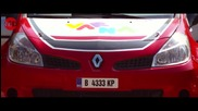 Тодор Славов & Рено Клио R3 на скорост // video by Studio Red Team