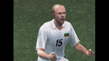 България 1:0 Русия (pes4)