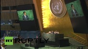 UN: Japan's Abe promises $750 million for Syria, Iraq refugee aid