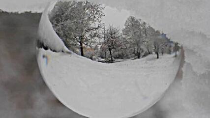 Честит първи сняг от Разград!