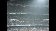 Himno de la champions league en el Bernabeu Madrid - Bayern