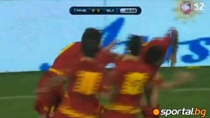 09.10.2010 Черна гора - Швейцария 1 - 0