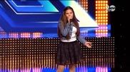 X Factor 23.09.2014 - Момиче вдигна всички на крака