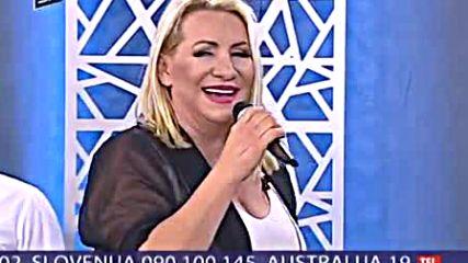 Vesna Zmijanac - Cudna jada od Mostara grada - LIVE - Utorkom u 8 - (DM SAT 2017)