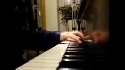 Skillet - Hero (piano)