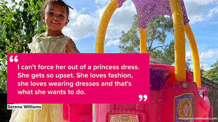 Serena Williams does first fashion campaign with baby girl Olympia