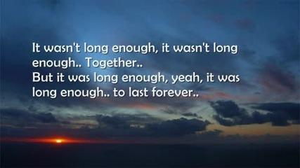 Forever - Rascal Flatts [lyrics] [превод]