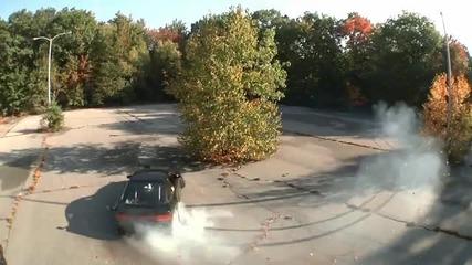 Супер дрифт видео с Nissan