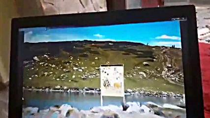 Плувец в Рилските езера