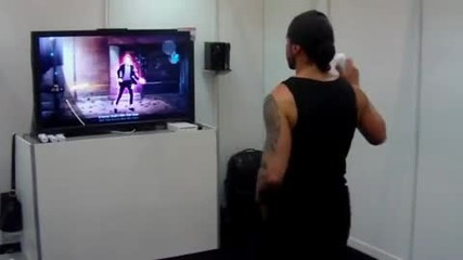 The Michael Jackson Experience Billie Jean Gameplay Wii Gamescom2010