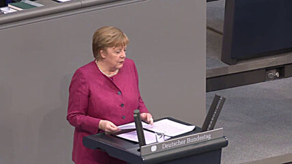 Germany: Merkel urges night curfew as Bundestag debates Infection Protection Act amendments