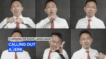 Cursing in sign language: Funny things to call a jerk