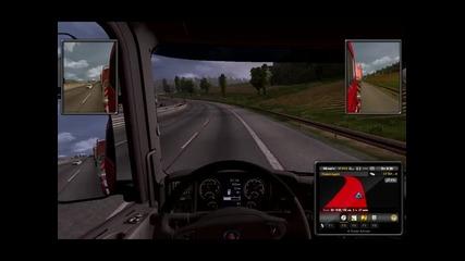 Euro Truck Simulator Епизод 4 (themorfeiii) до Bratislava + Невероятен камион